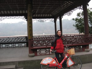 Biking Around Xi Lu